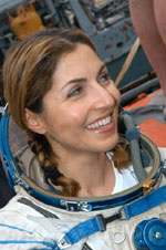 Anousheh Ansari in Training