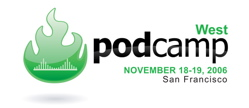 podcamp west logo
