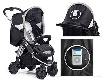 iPod Baby Stroller