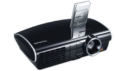viewsonic ipod video projector