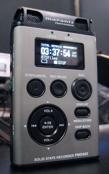Marantz Intros PMD620 Portable Media Recorder