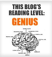 If you can read this, you'r a genius