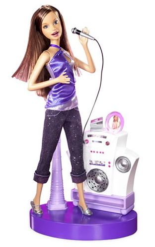 Barbie's Friend Teresa loves iPods