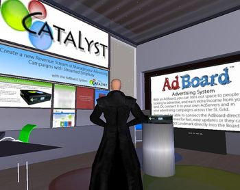 Second Life Advertising