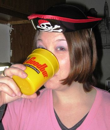 Stacy Snyder, Drunken Pirate