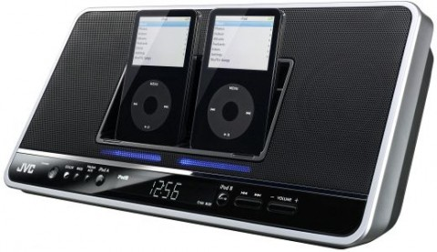 JVC Ipod dock for two