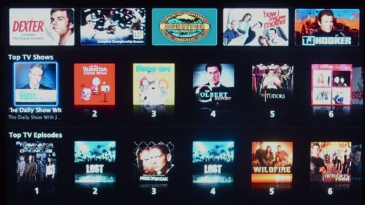Apple TV buying tv shows