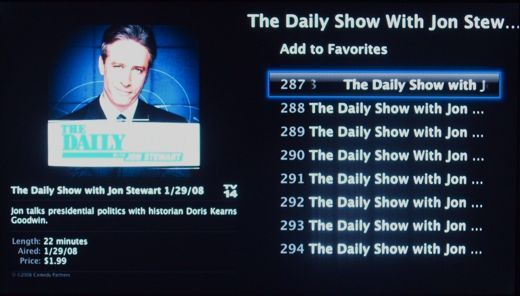 Apple TV Jon Stewart