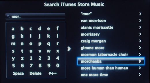 Apple TV Search