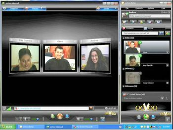 oovoo screen