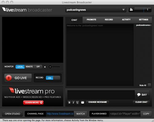 Mogulus Relaunched As Livestream, Debuts Broadcaster App