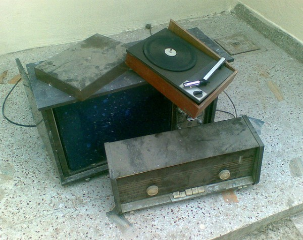 Old media junk - radio, cable and tv
