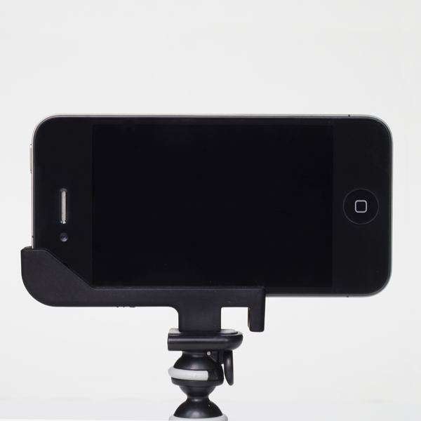 iPhone 4 tripod adapter
