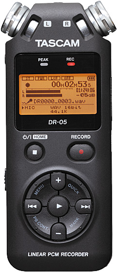 Tascam DR-05 Portable Audio Recorder