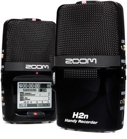 Zoom H2N Portable Audio Recorder