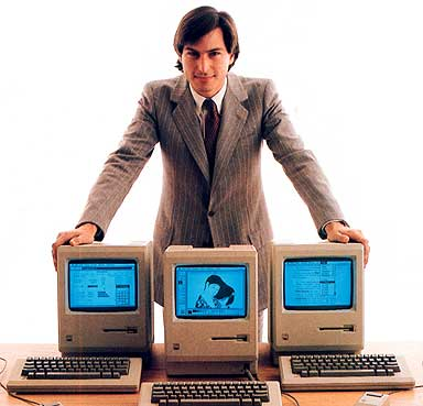 Steve Jobs Macintosh Desktop Publishing