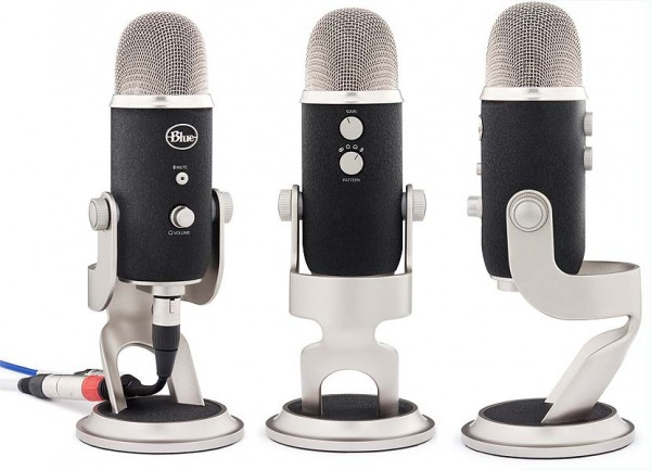 The Blue Yeti Pro Microphone